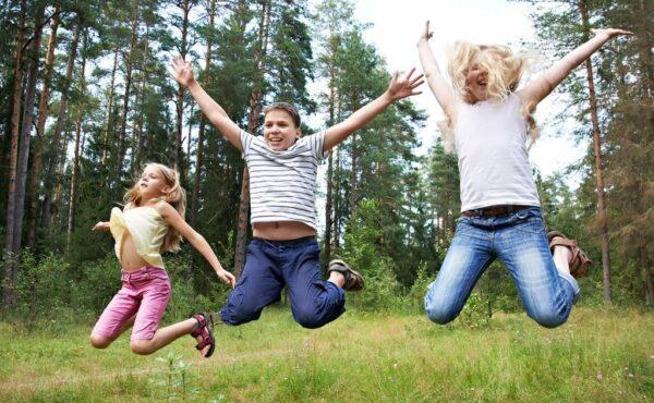 Kinder springer